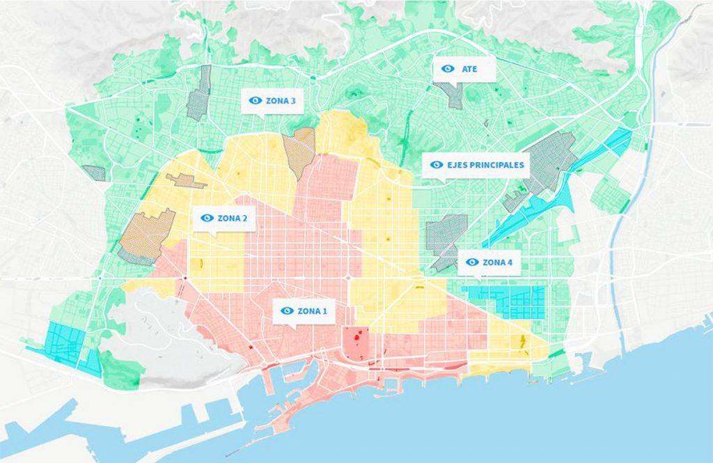 PEUAT map